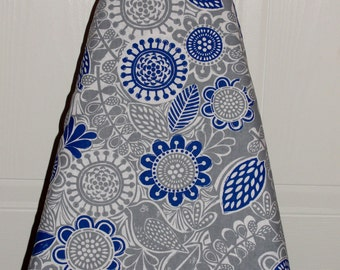 Ironing Board Cover Blue Grey Gray Bird