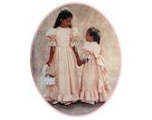 Girls' Frilly Dress Pattern McCall's 4656 Flower Girl Size 6