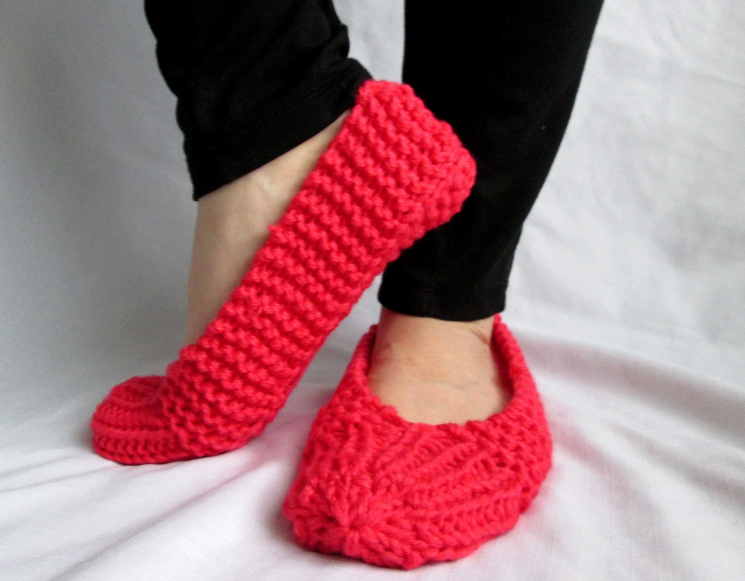Knitting On The Net Slippers : Womens knit slippers images slipper boots