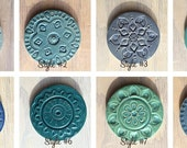 Build your own coaster set from a choice of 8 patterns and over 40 colors