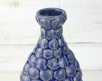 Beach Decor Vintage Blue Vase by SEASTYLE