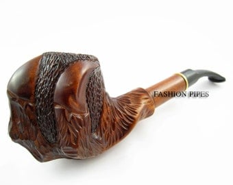 Long Pipe, Carved Wood/Wooden Pipe Tobacco Pipe CLAWS Classic Smoking Pipes Long Stem Pipes Smoking Pipe Rear Wood Pipe