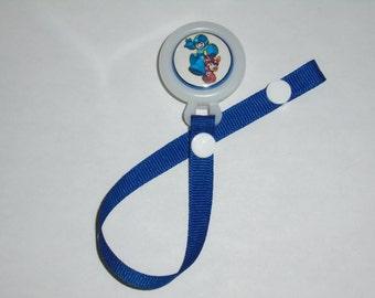 Megaman Pacifier Clip