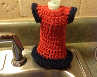 Crochet Kitchen Dishcloth Dress Made to Order Cotton Dishcloth