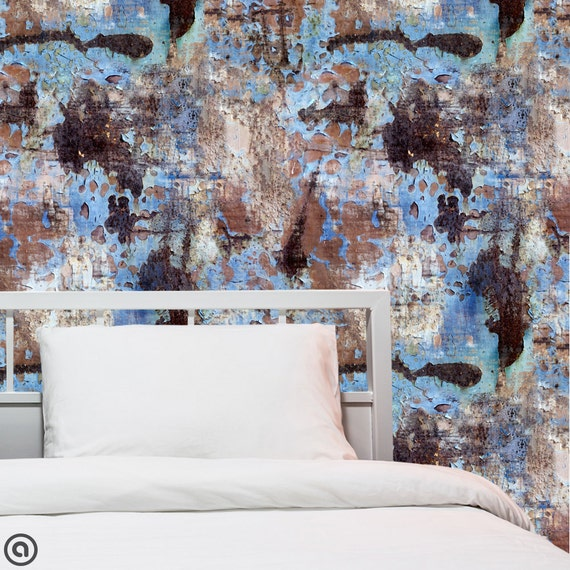 Removable wallpaper peeling paint peel stick self adhesive for Paintable temporary wallpaper