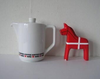 Kaffee Hag Promotional Coffee Pitcher