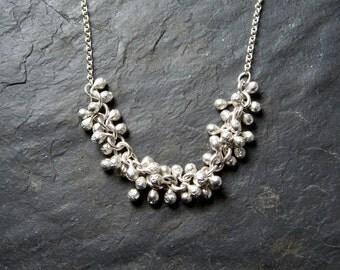Sterling Silver Vine Necklace