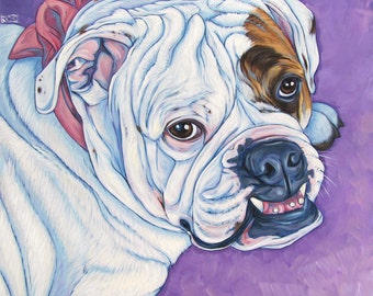 "20"" x 20"" Custom Pet Portrait Painting in Acrylic on Canvas of One Dog, Cat, Horse or Other Animal"