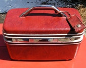 Vintage SAMSONITE SILHOUETTE TWO  - Deco  accessory  - makeup case - Mexico