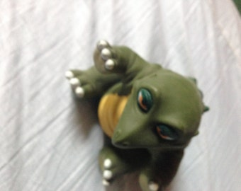 SALE! 1988 Land Before Time Spike DInosaur Puppet Pizza Hut FREE SHIPPING in the U.S.