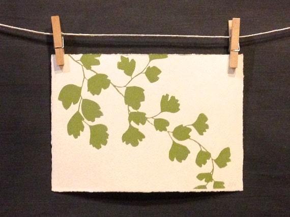 Fern Botanical - Handmade - PRINT