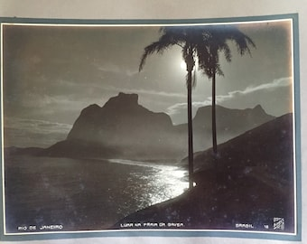 Vintage Original Carlos Bippus Rio de Janeiro Photo Album Titled, Signed and Numbered 34 Photographs