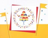 Cupcake Love! Set of 5 cards