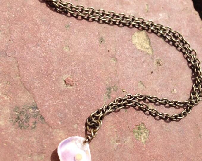 Seashell Mustard Seed Faith Necklace
