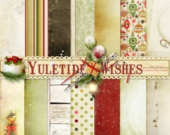 Yuletide Wishes Papers