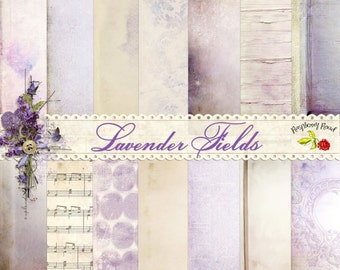 Lavender Fields Paper Set