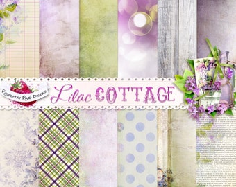 Lilac Cottage Paper Set
