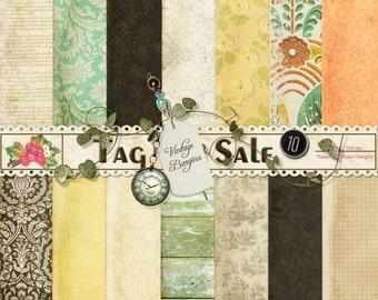 Tag Sale Paper Set