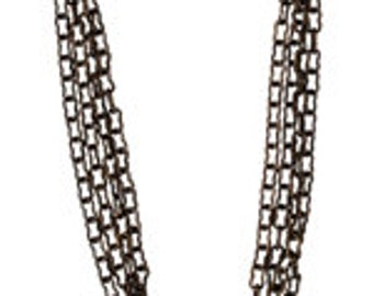 Vintaj 1.7mm Fine Ornate Chain - 24 inches