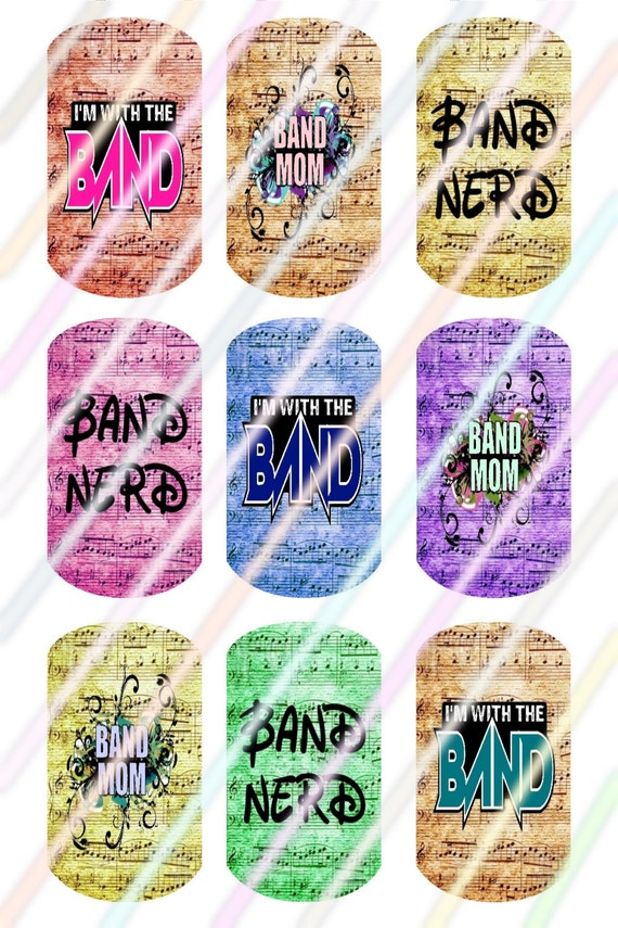 Band Dog Tags Images Instant Download by SunshineVariety78 ...