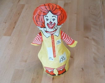 Vintage Ronald McDonald Inflatable Toy from McDonald's