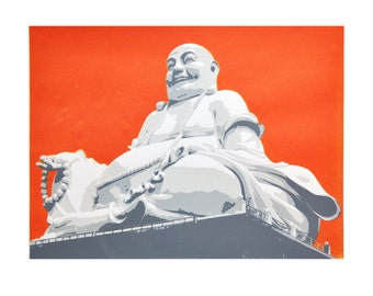 The Laughing Buddha, Vinh Trang Temple, Vietnam
