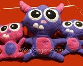 In the hoop Monster Stuffie