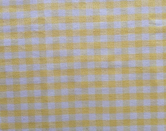 2 Pillow Covers 18x18 inch-Free US Shipping - Yellow Plaid