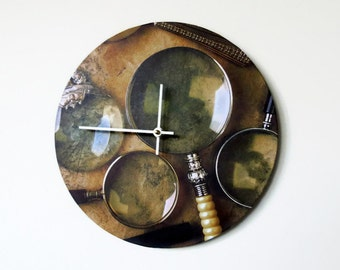 Wall Clock, Sale, Decor and Housewares, Home and Living, Home Decor ,Unique Wall Clock, Unique Gift, Trending
