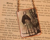 Mary Patterson necklace First African American Woman B.A. Degree  mixed media jewelry