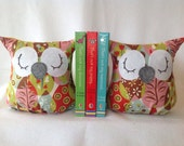 Cuddly Toy Owl Bookends - 2owls