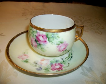 Vintage Bavaria Cup and Saucer