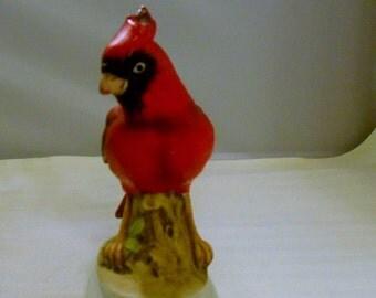Vintage Lefton Porcelain Cardinal