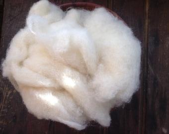 The PERFECT Craft Wool - 1lb Eco Core Wool  Batting- Organic Core Fiber- Craft Wool- Needle Felting Wool