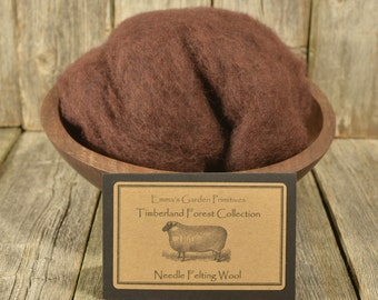 Timberland Forest Collection - Bark - Needle Felting Wool - Wet Felting Wool