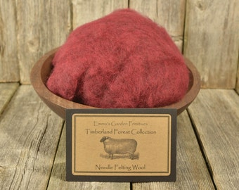 Timberland Forest Collection - Japanese Maple - Needle Felting Wool - Wet Felting Wool