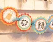 Little Monsters Birthday high chair banner, I am one, Monster birthday, Monster party, Little Monster, Monster, 1st birthday