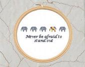 Lifestyle Themed Cross Stitch Pattern, PDF, DMC, Instant Download