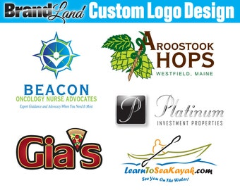 One Business Day Logo Concepts, Custom Business Logo Design, Logo, Logo Design, Custom Logo, OOAK Logo