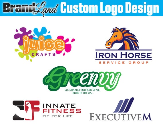 Logo Design, Custom Logo Design, Logos, Professional Logo, Business Logo - Unlimited Revisions