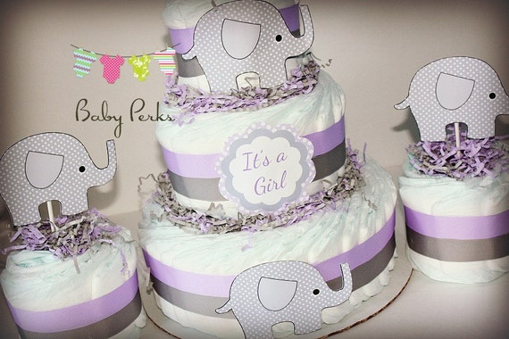 baby shower chevron baby shower purple and gray baby shower baby