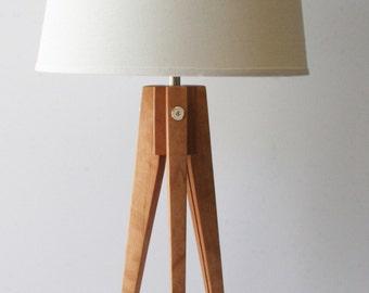 Table Lamp Tripod Slim - Cherry (American)