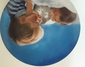 """Donal Zolan """"Brotherly Love"""" collection plate."""