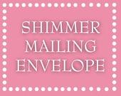 Shimmer Mailing Envelopes