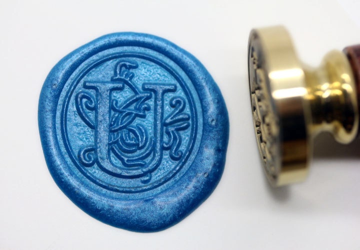 letter wax seal s1163 alphabet letter u wax seal stamp sealing 23296