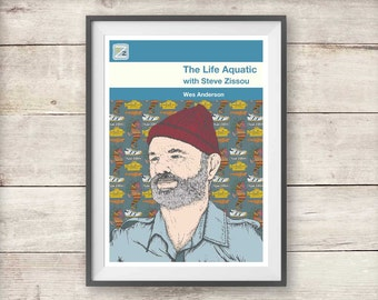 The Life Aquatic with Steve Zissou - Wes Anderson - Print