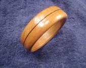 Beautiful Hand turned Oak Bracelet