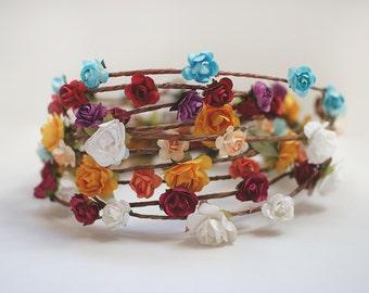 FESTIVAL   Flower Crown, Baby Flower crown, Toddler Flower crown, Adult Flower crown