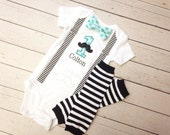 MUSTACHE 1st Birthday Outfit,Personalized First Birthday Outfit,Boys Cake Smash Outfit,Baby Boy Clothes, Mustache Birthday Set