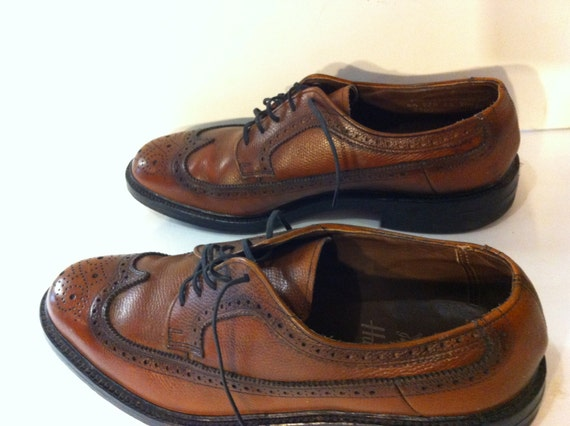 Vintage Mens Brown Shoes by Hanover